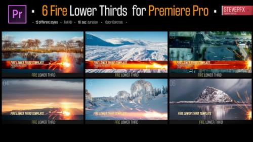 Udemy - Fire Lower Thirds