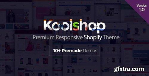 ThemeForest - KoolShop v1.0 - Responsive Shopify Theme (Update: 16 January 17) - 19234249