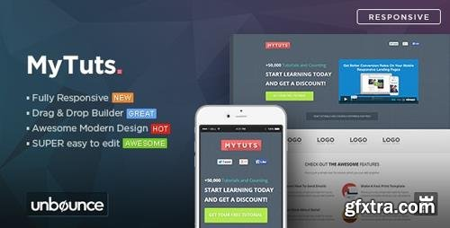 ThemeForest - MyTuts v1.0 - Education Unbounce Template - 11053619