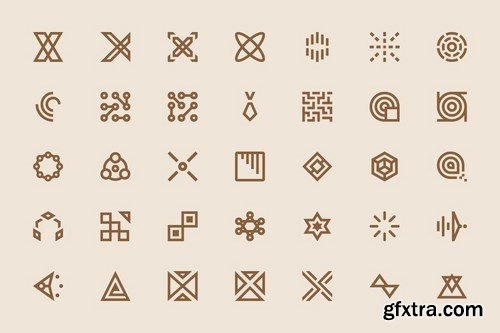 Abstract icons #2