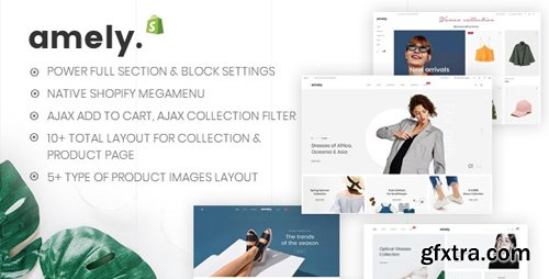 ThemeForest - Amely v1.0.2 - Clean & Modern Shopify Theme - 23704747