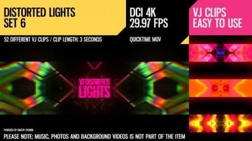 Udemy - VJ Distorted Lights (4K Set 6)