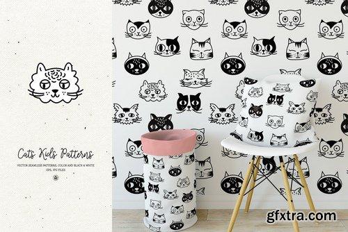 Cats Kids Patterns