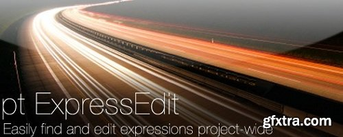 pt_ExpressEdit 2.5 for After Effects MacOS