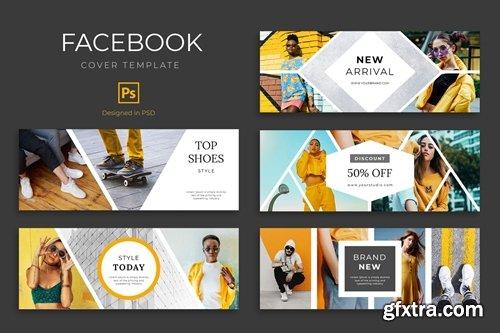 Urban Fashion Facebook Cover Template