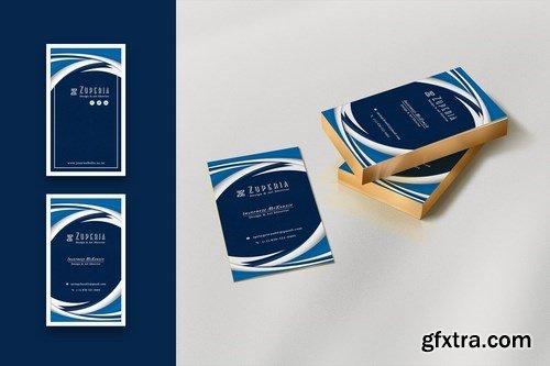 Designer Creative Business Card - Vertical