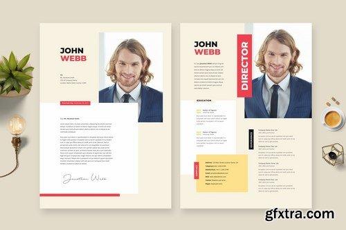 Creative Resume CV Template 23