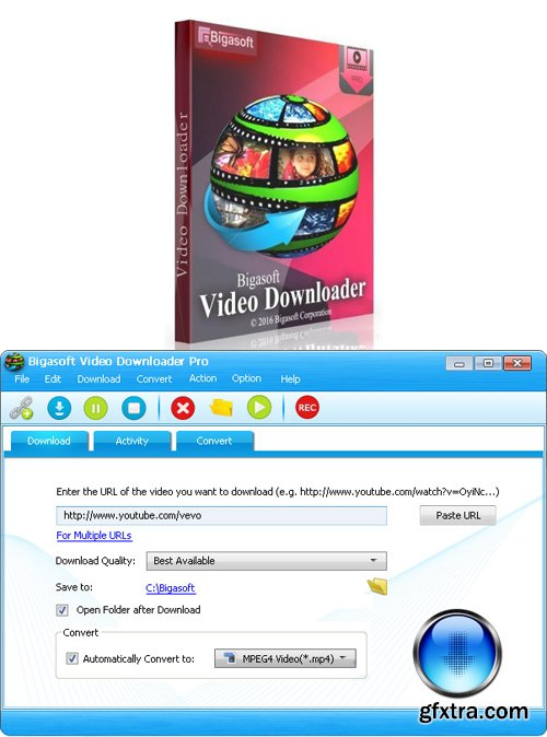 Bigasoft Video Downloader Pro 3.17.7.7162 Portable