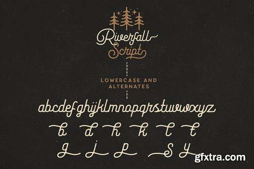 Riverfall Semi Rounded Font Family