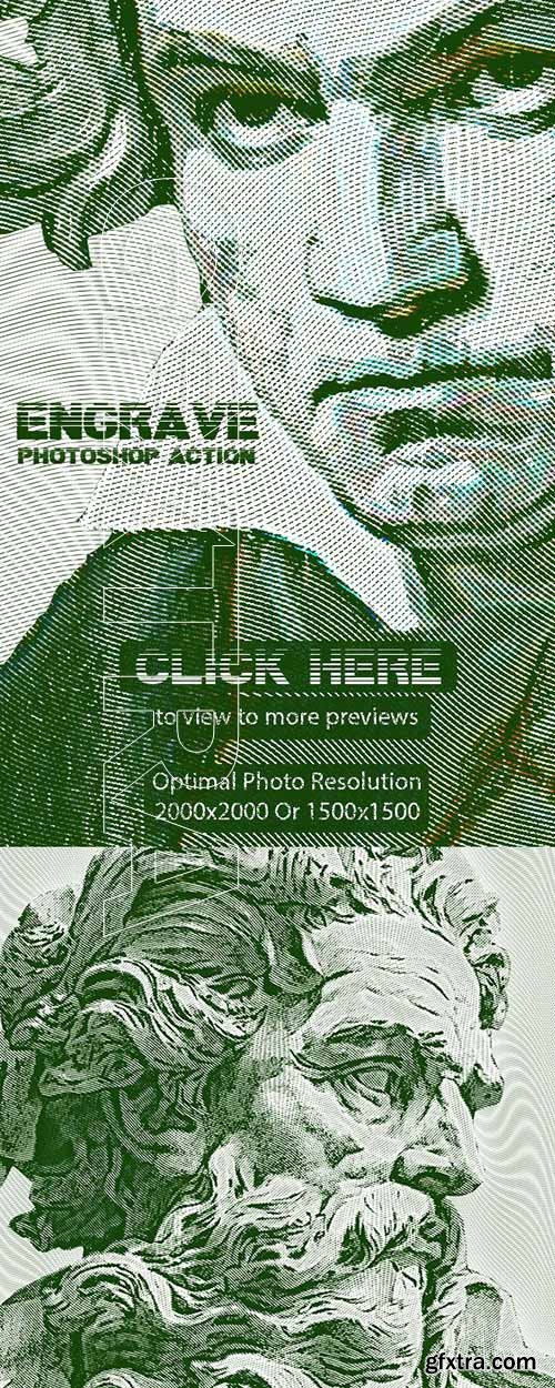 GraphicRiver - Engrave Photoshop Action 24422681