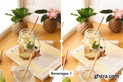 6 Lightroom Preset for Beverages