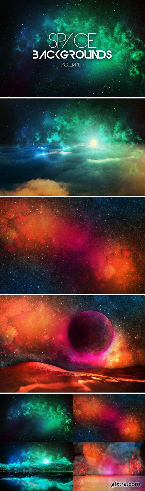 CM - Space Backgrounds Vol.1 176815