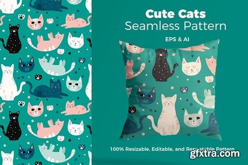 Beautful Cat Pattern