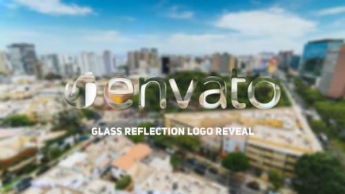 Udemy - Glass Reflection Logo Reveal