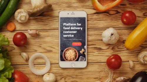 Udemy - Food App Logo Reveal