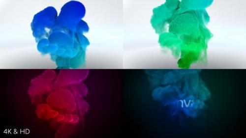 Udemy - Color Smoke Logo Reveal 3