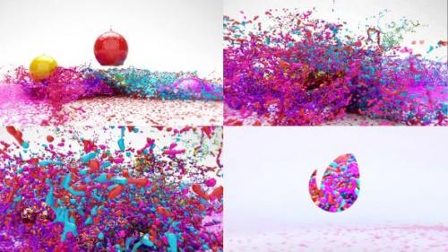 Udemy - Paint Splash Logo Reveal