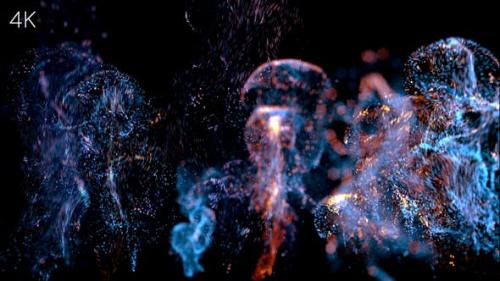 Udemy - Bokeh Particle Logo Sting