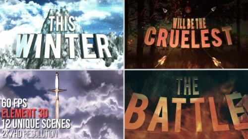 Udemy - 3D Cinematic Titles