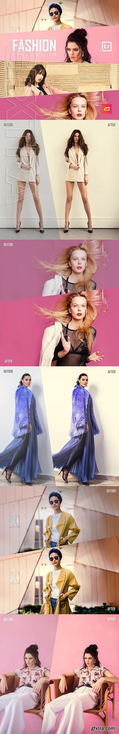 GraphicRiver - Fashion Collection - Golden Lightroom Preset 24348886