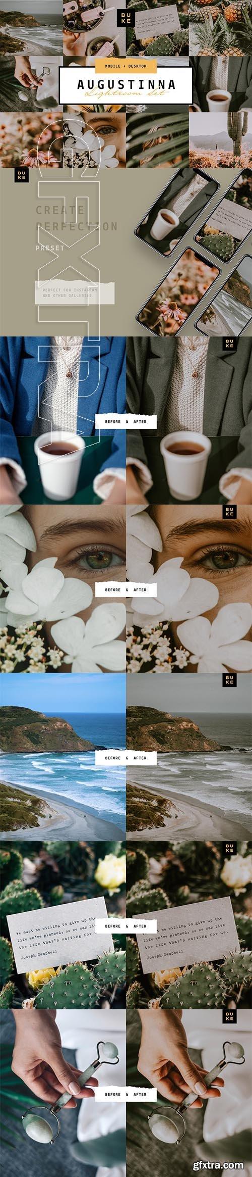CreativeMarket - Augustina Lightroom Preset 4008293
