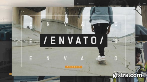 VideoHive Dynamic Opener Urban City Hip-Hop Cultur Event Promo Fashion Street Style 21895535