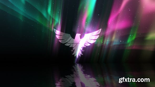 VideoHive Aurora Lights Logo 24478599