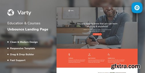 ThemeForest - Varty v1.0 - Education & Course Unbounce Landing Page Template - 23455480