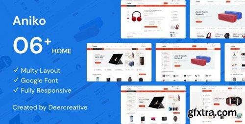 ThemeForest - Aniko v1.0 - Multipurpose Electronics eCommerce PSD - 24462352