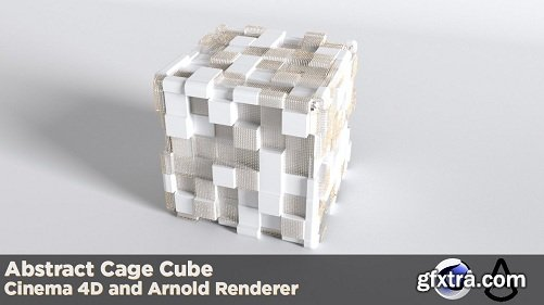 Creating Abstract Cube Cage With Cinema 4D and Arnold Renderer