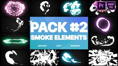 Udemy - Smoke Elements Pack 02   Premiere Pro MOGRT