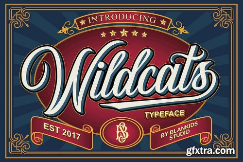 MightyDeals 23 Premium Fonts from Blankids Studio