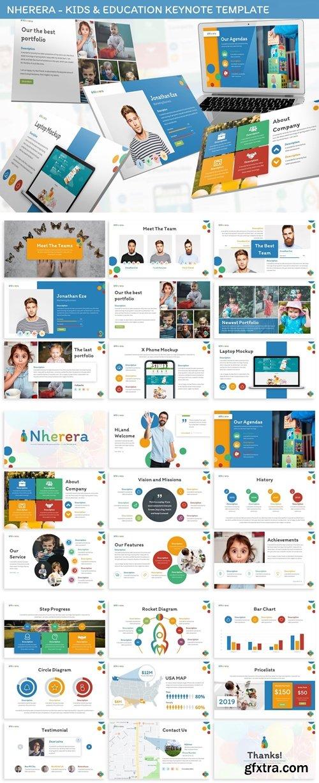 Nherera - Kids & Education Keynote Template