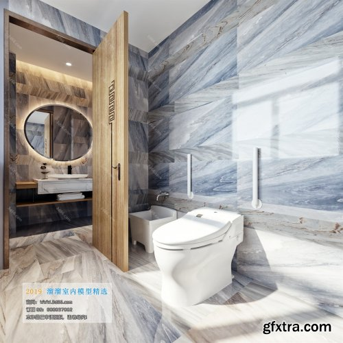 Modern Style Bathroom 24 (2019)