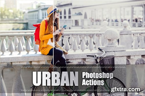 CreativeMarket - 70 Urban Photoshop Actions 3938019