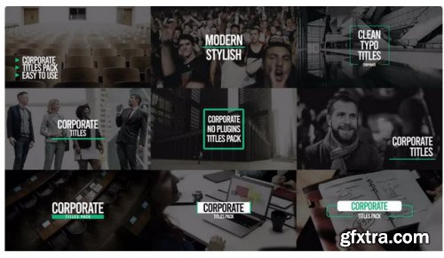 Corporate Titles Pack V6 - After Effects 257978