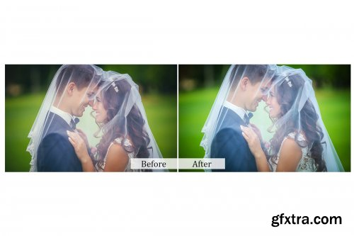 CreativeMarket - 110 Wedding Photoshop Actions 3942076