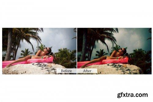 CreativeMarket - 40 Vintage Photoshop Actions 3941798