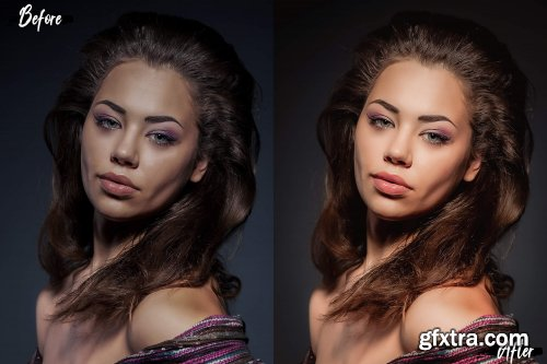 18 Perfect Skin Photoshop Actions, ACR and LUT presets, skin retouch