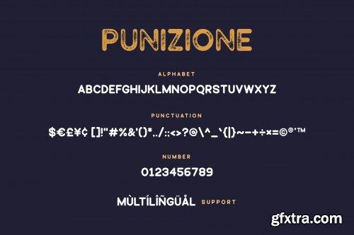 Punizione - Sans Vintage Font