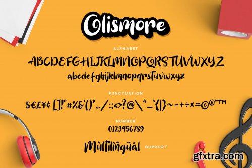Olismore - Playfull Font