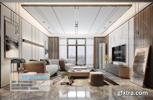 Modern Style Livingroom 37 (2019)
