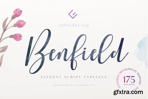 Benfield - Script Font