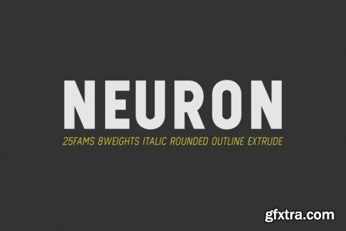 CreativeMarket - Neuron - Limitless Sans 3997876