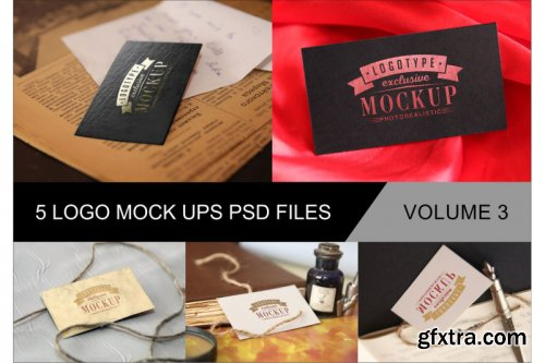 Photo Realistic Mock-ups Bundle V1-6 » GFxtra