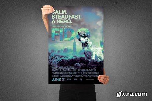 CreativeMarket - Fido Movie Poster Template 3991104
