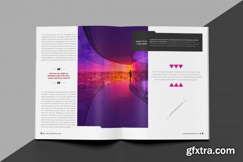 Indesign Magazine Brochure Template