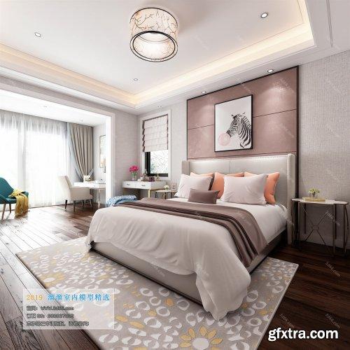 Modern Style Bedroom 54 (2019)