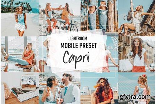 CreativeMarket - CAPRI 4 Lightroom Mobile presets 3957013