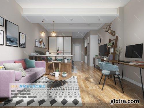 Modern Style Livingroom 42 (2019)